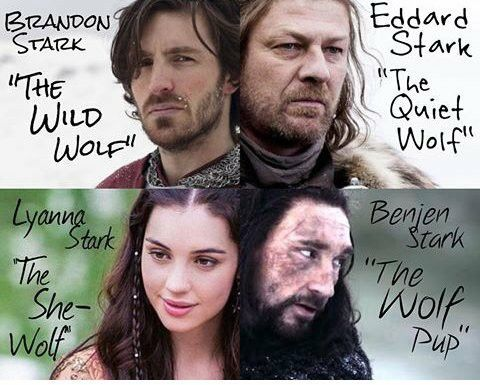 Brandon Eddard Lyanna And Benjen Stark I Want Tatoo Thi Photo