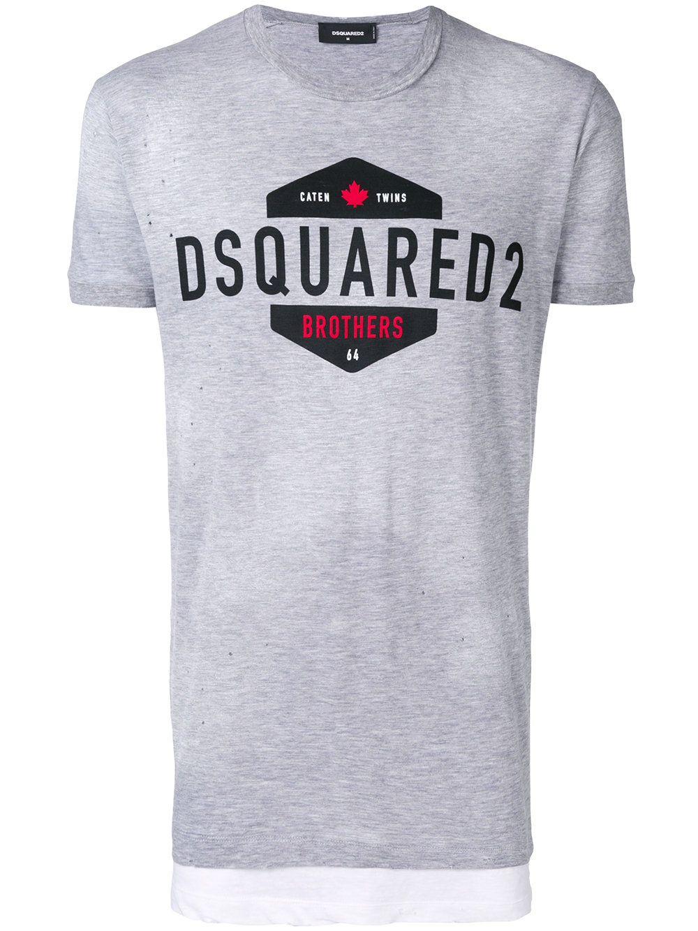 Logo Dsquared2 Patch Logo T Dsquared2 Shirt 1OPzwvTq