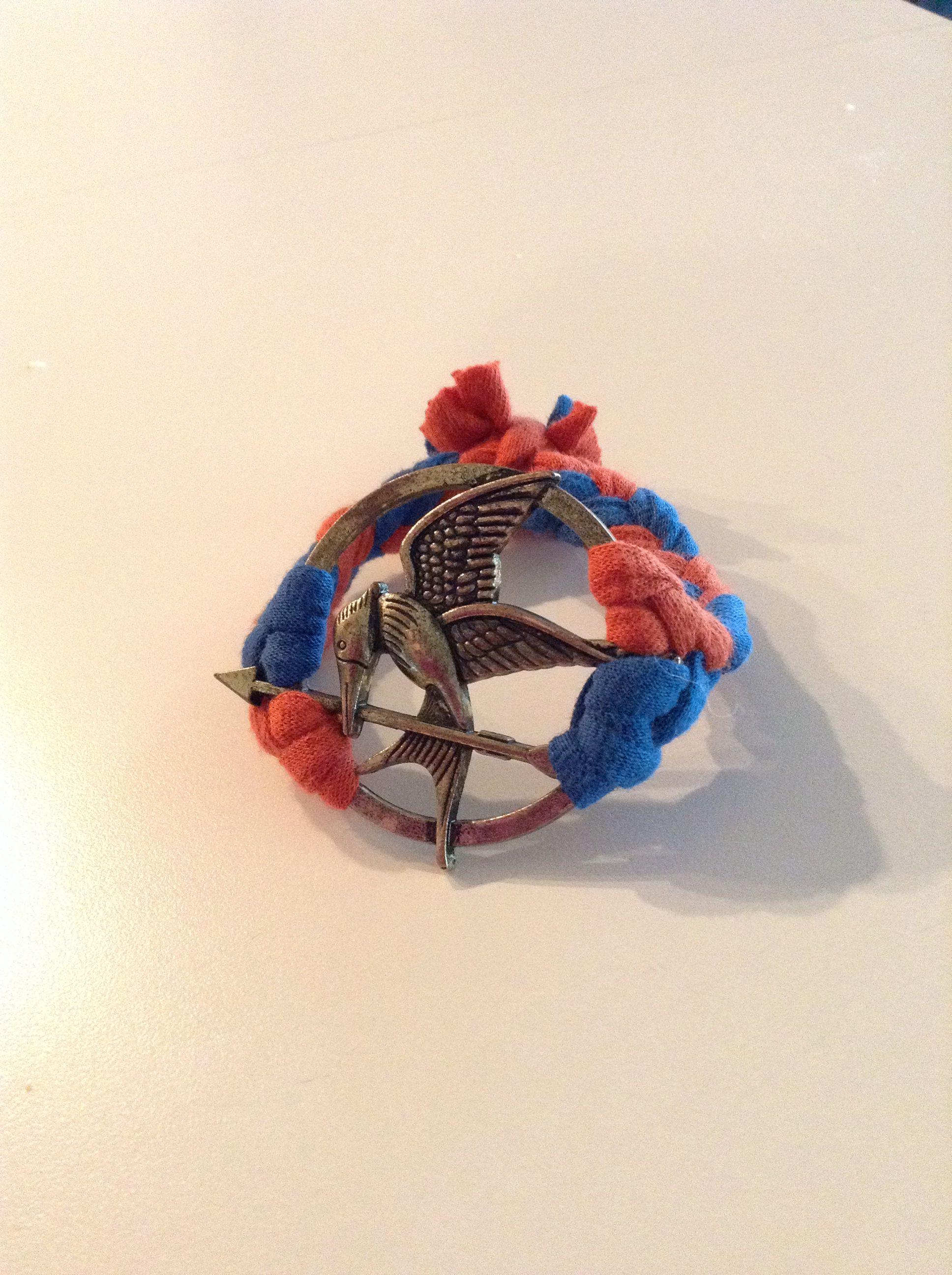 My mockingjay bracelet I made
