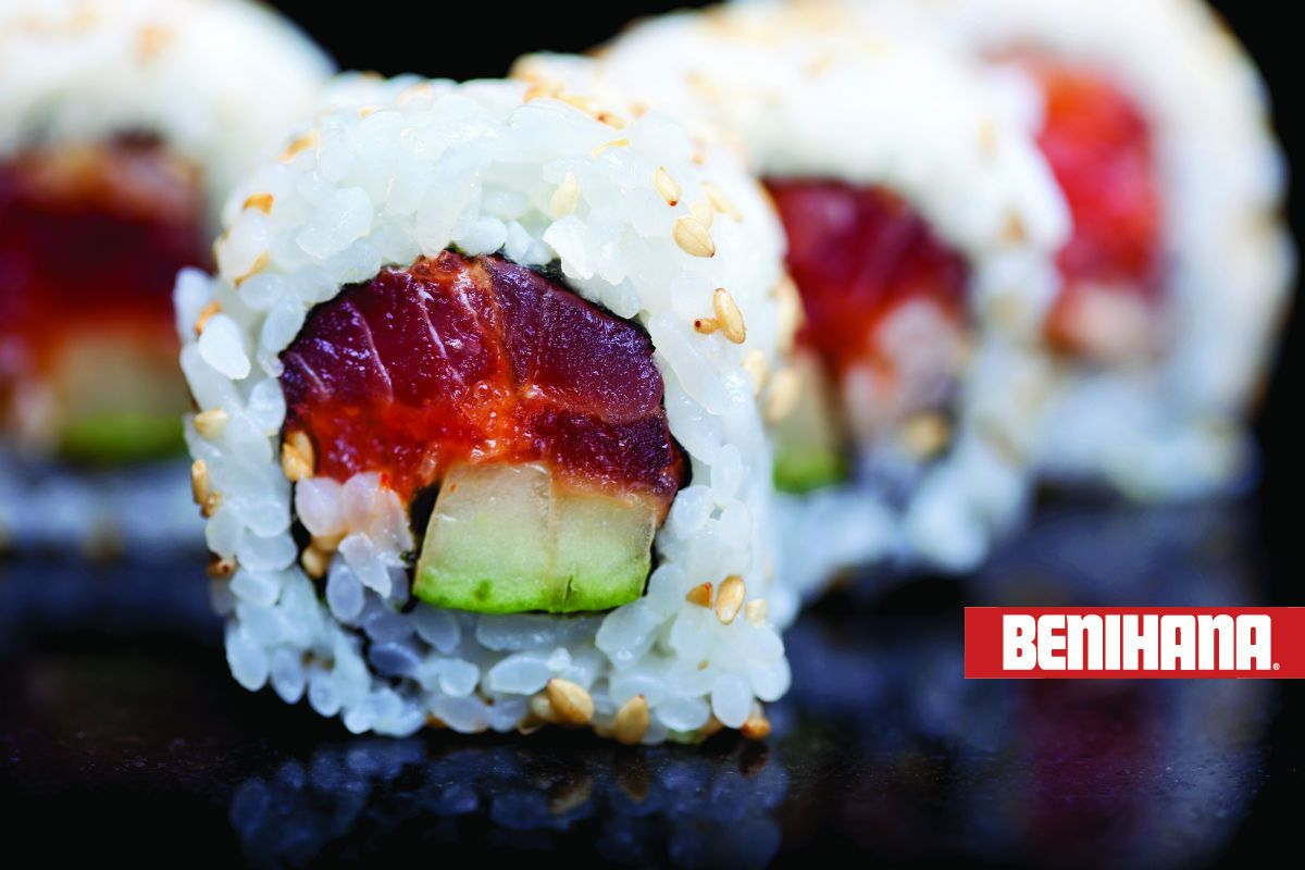 Benihana spicy tuna roll things you can buy with a benihana gift register for the chefs table our exclusive membership group for the latest news and a complimentary birthday gift certificate bookmarktalkfo Choice Image