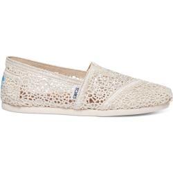 Toms Schuhe Beige Crochet Classics Für Damen - Größe 35.5 TomsToms #whatkindofdog