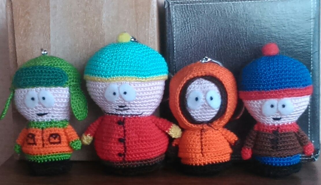 south park (pattern by Aradiya Toys)
