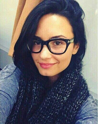 00ed0c59a03 Demi Lovato  Tom Ford Glasses