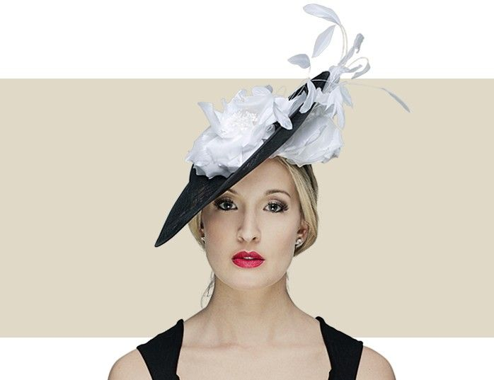 ALYSSA - Two-tone Feather and Quill Fascinator from Nigel Rayment s Couture  Line. For More Information About This Fascinator 01c28ea6b74
