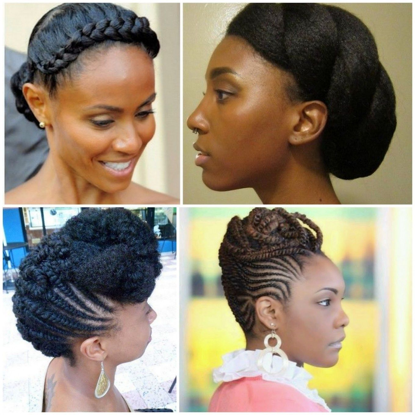 Wedding Hairstyles For Afro Caribbean Hair Afro Caribbean Hair Hair Styles Wedding Hairstyles