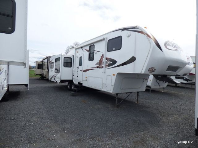 Travel Trailers For Sale Puyallup Wa >> 35 0 Feet 2010 Keystone Rv Cougar 327res Fifth Wheel For Sale In