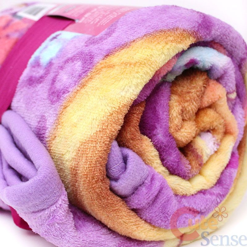 Disney Princess Tangled Rapunzel Microfiber Plush Throw Blanket Fascinating Rapunzel Throw Blanket