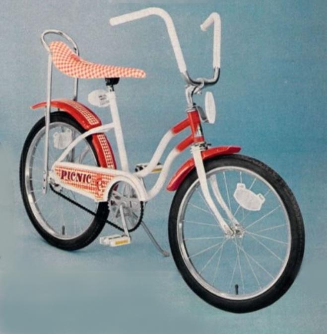 Jcpenney Picnic 77 In 2020 Banana Seat Bike Old Bikes Bike