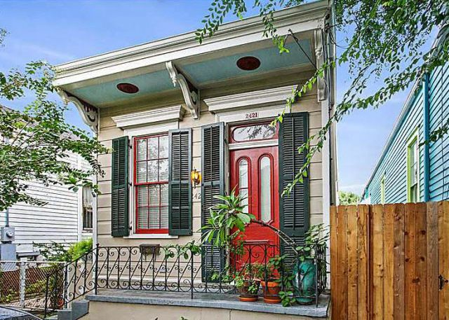 Don't you just love a shotgun house? A shotgun house typically has one room leading into the next without hallways. This style of house is particularly well suited for hot climates because on…