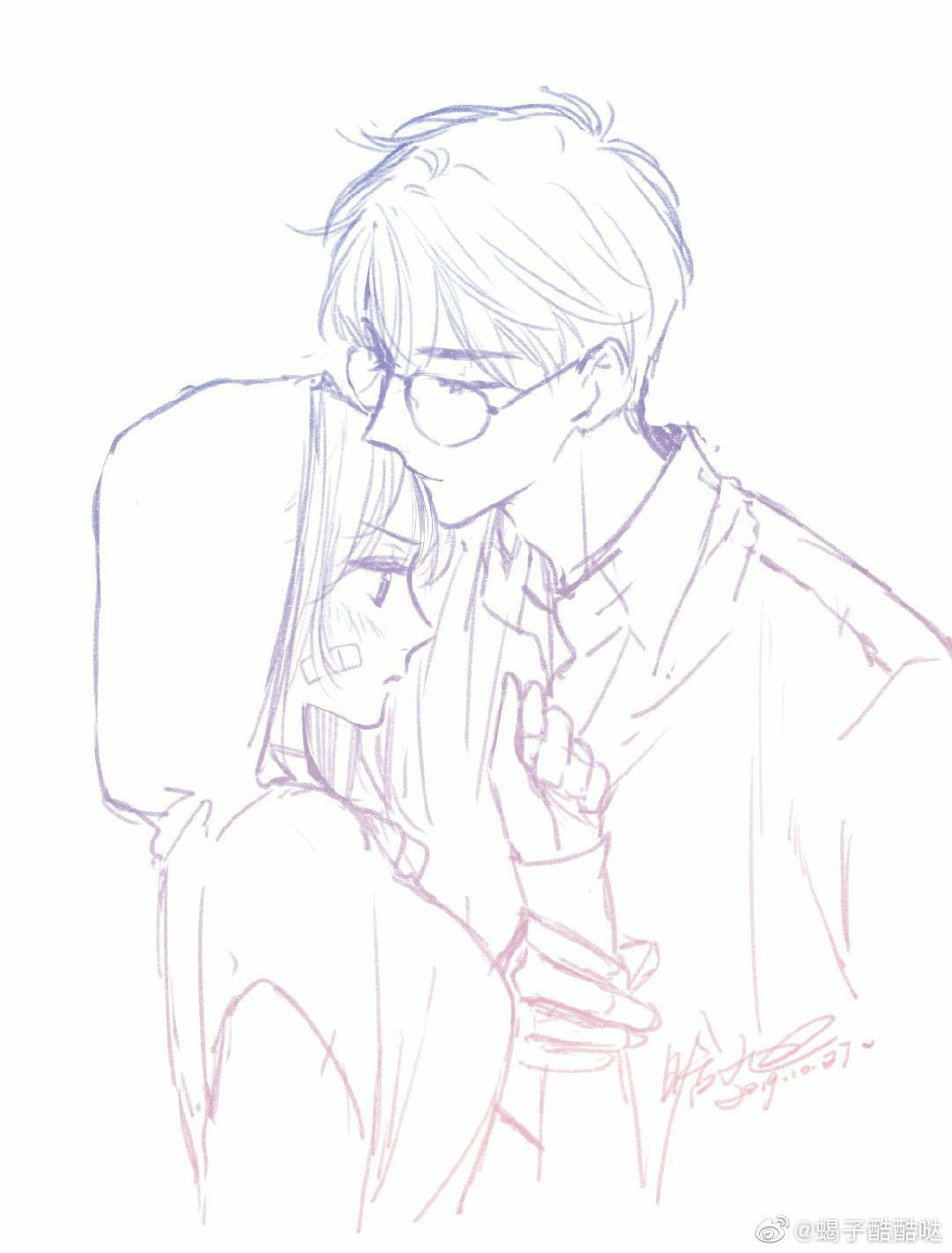Sketch Couple In 2020 Anime Poses Reference Anime Sketch Anime Drawings Sketches