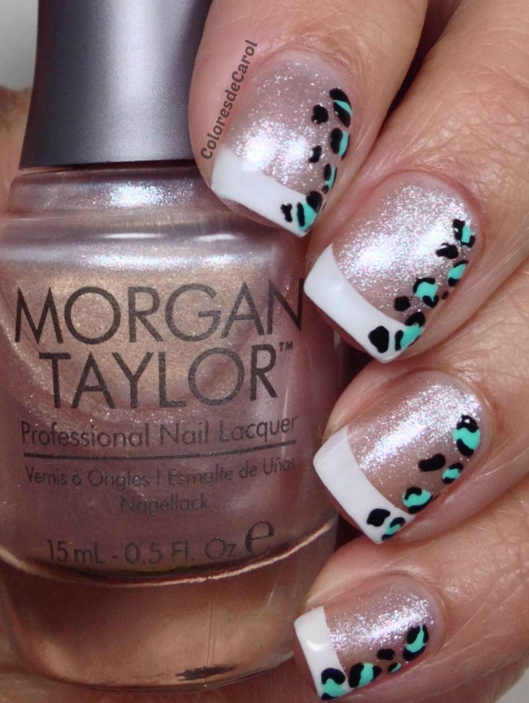 nails.quenalbertini: Colores de Carol - Morgan Taylor - Scene Queen, Bronzed & Adorned in Diamonds