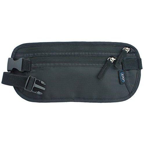 6918c4dba0c6 Alpsy Travel Wallet Under-Clothes Money Belt Waist Bag Secure Hidden ...