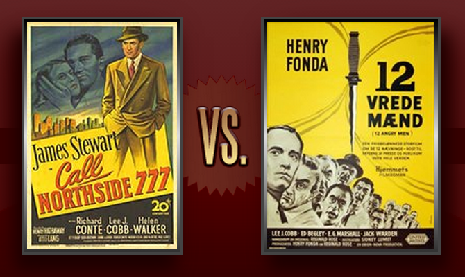 "Reel Rumbles: ""Call Northside 777"" vs. ""12 Angry Men"" - http://www.flickchart.com/blog/reel-rumbles-call-northside-777-vs-12-angry-men/"