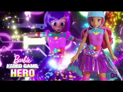 Unbox Barbie Video Game Hero Match Game Princess Doll & Get into the Game! |