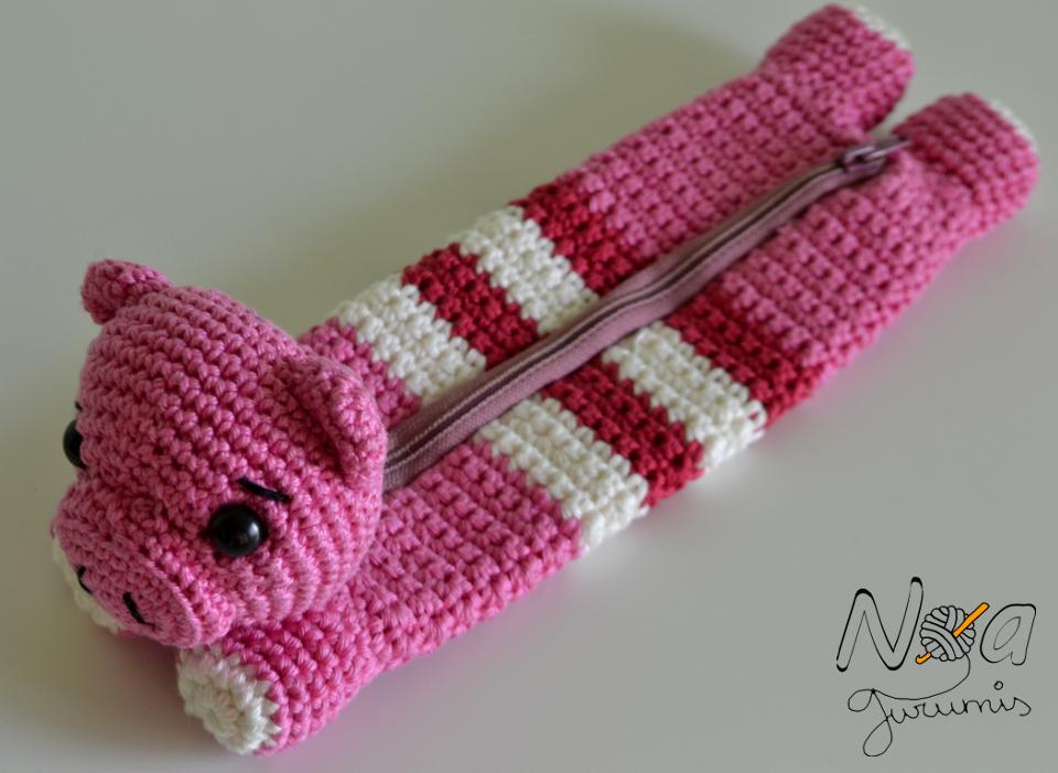 Estuches molones IV: Cerdo de ganchillo by Noagurumis | Bags ...