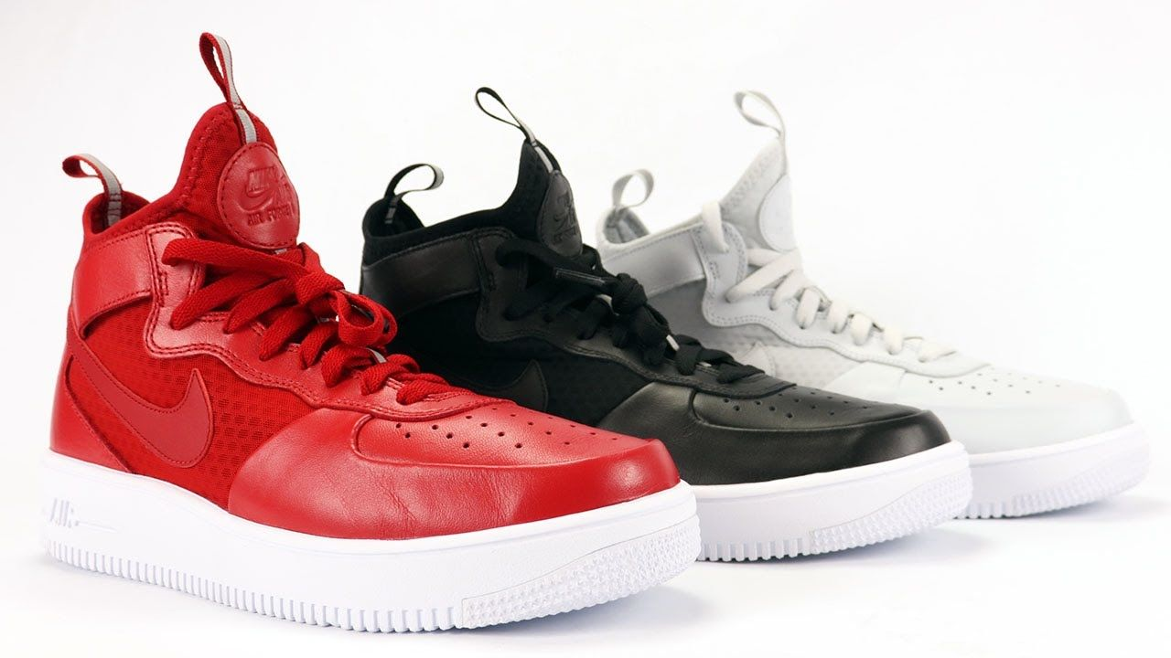 nike air force 1 mid red python vr