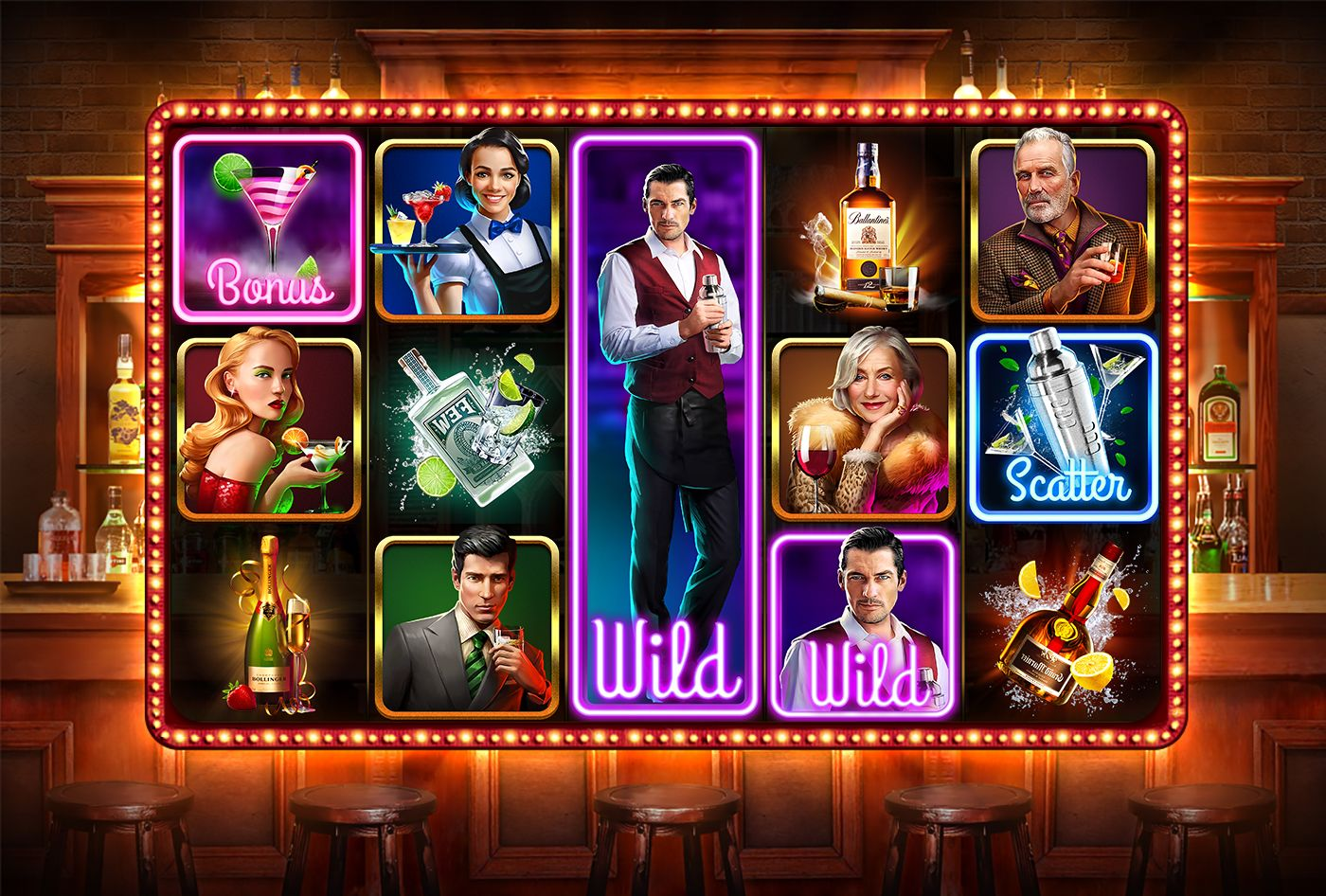 Cocktail time slot on Behance Slot, Online casino slots
