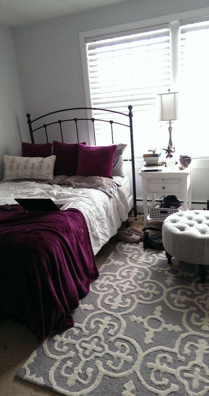 Pin By Alex Bedroom On Ideas For Bedrooms Maroon Bedroom Bedroom