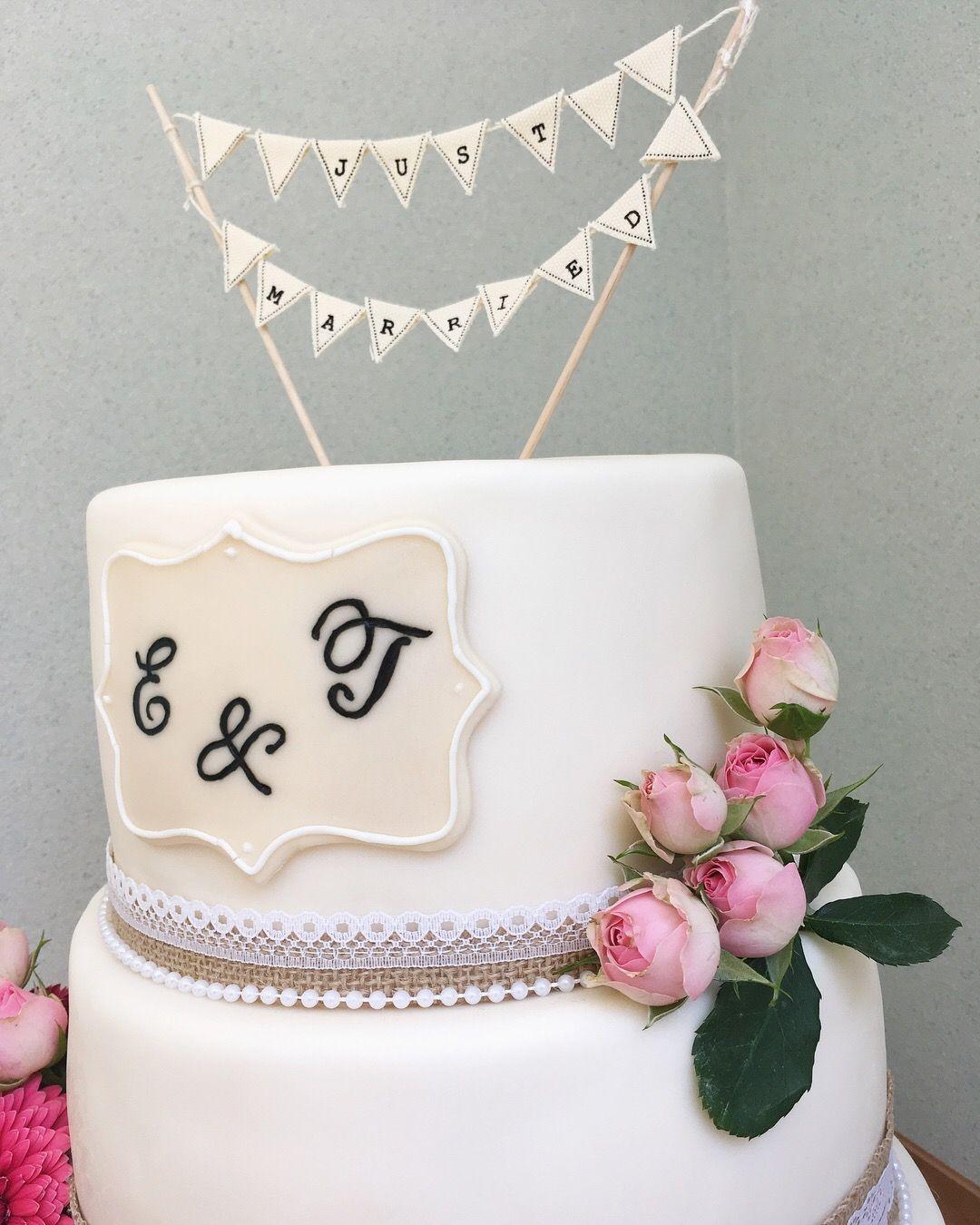 Details Vintage Wedding Cake Details Klassische