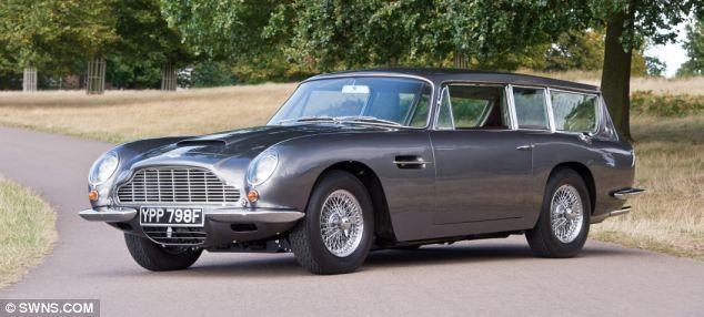 An Aston Martin estate, Mercedes limousine and even a 2CV: The £25m