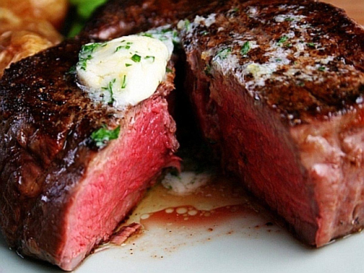 Check out Seared Filet Mignon. It's so easy to make ...