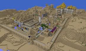 Holy city of Mincraftia.