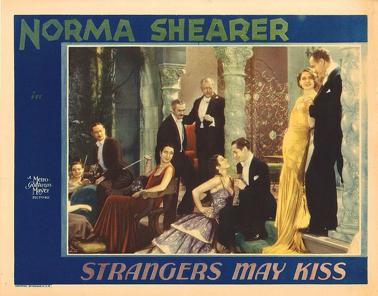 Lobby Card from the film Strangers May Kiss