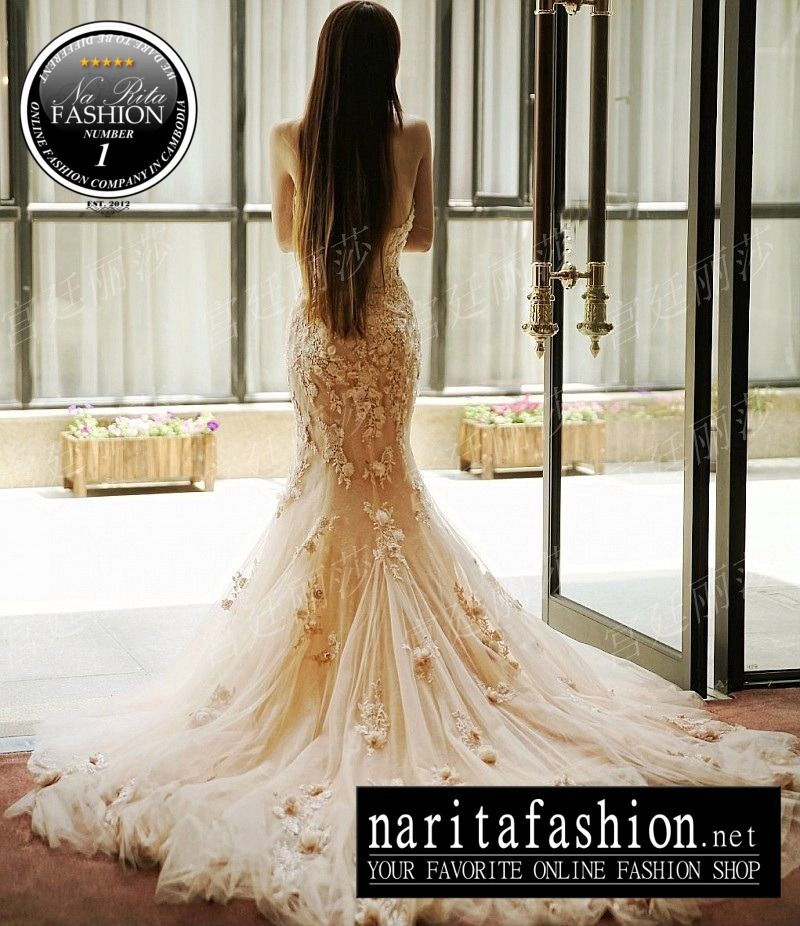 Wedding dresses 2014 2015 collection at na rita fashion for Cambodian wedding dresses sale