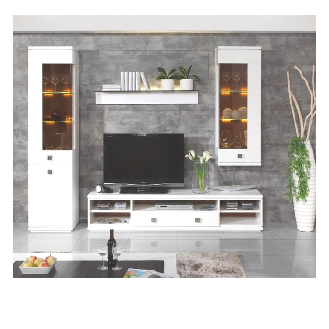 TV & Entertainment unit in White finish to complement your living room style quotient????  Like, Share & Comment???? -------- ????Yellow Tree… #bodenvasedekorieren