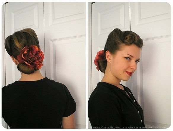 1940s  1950s Vintage HairstylesBlog Post Of Ideas