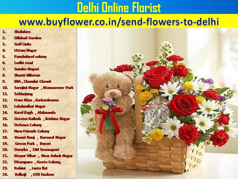 send flowers to India and all over the delhi And