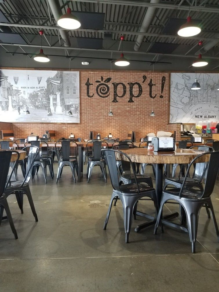 Toppt In New Albany In Best Bbq Chicken Salad Favorite