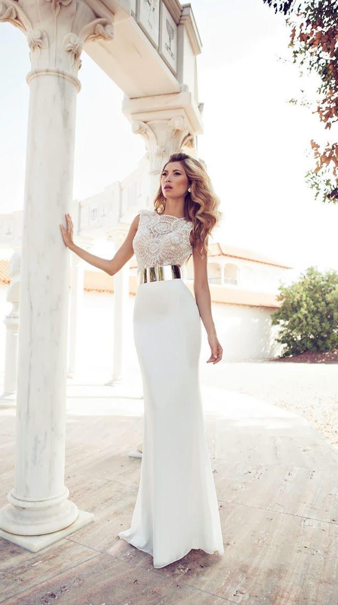 #Wedding Dresses by Julie Vino Fall 2014  | bellethemagazine.com