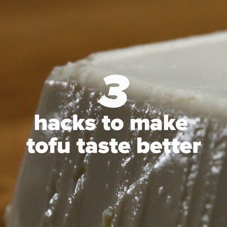 3 Hacks To Make Tofu Taste Better