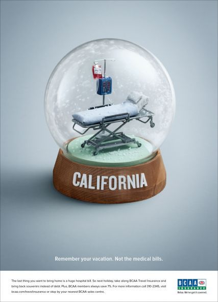 Remember your vacation not the medical bills (advert ...