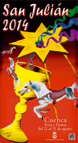 Cartel Feria de San Julián en Cuenca 2014