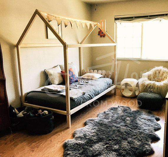 twin size house bed kids nursery bed bunk bed montessori bed baby