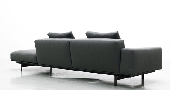 Flexible Living Lema S Latest Upholstered Seating Systems Fabric Sofa Design Sofa Upholstered Seating