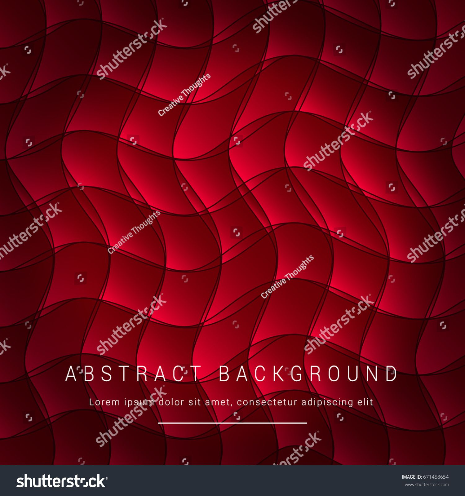 Abstract Background Vector Design Of Red And Black Wavy Geometric Pattern Wallpaper Sponsored Ornamental Vector Geometric Pattern Wallpaper Vector Pattern