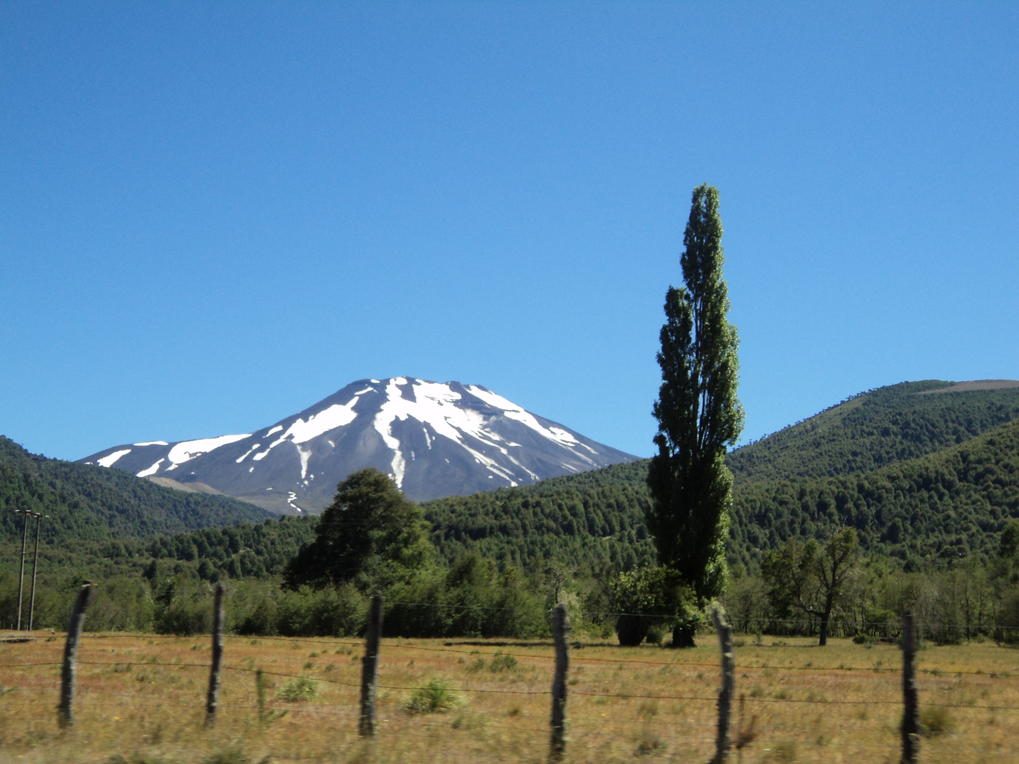 Volcán....  Chile.