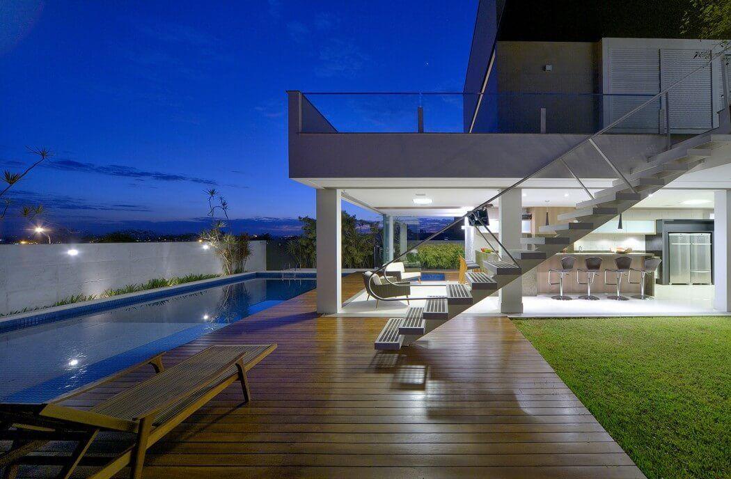 Casa Jabuticaba by Raffo Arquitetura Casas modernas Pinterest