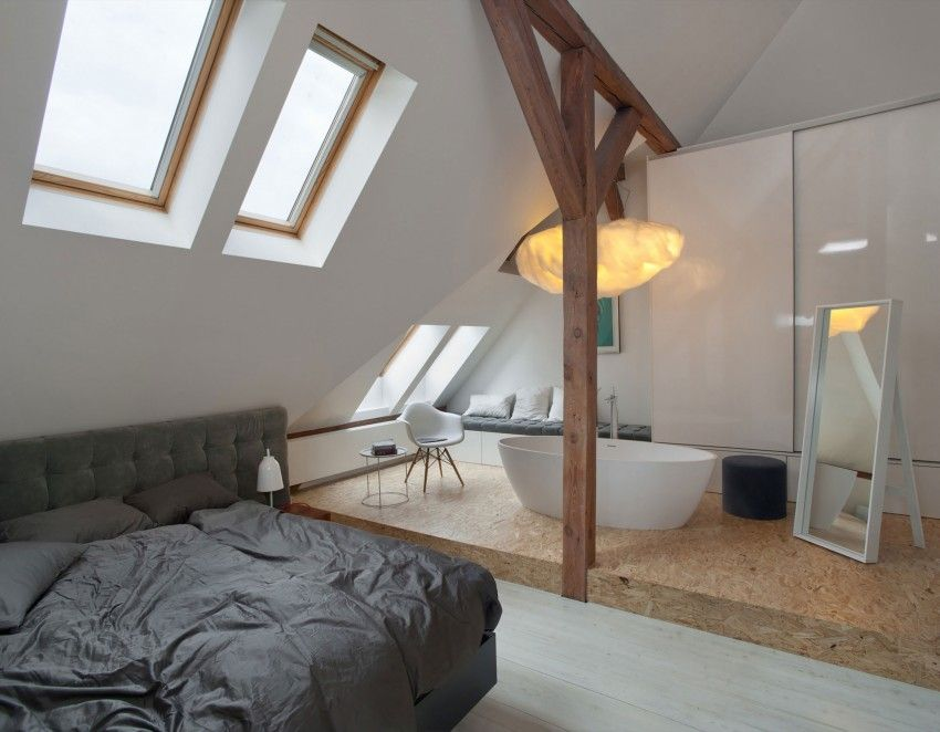 Room Cuns Studio Designs an Open Space Apartment
