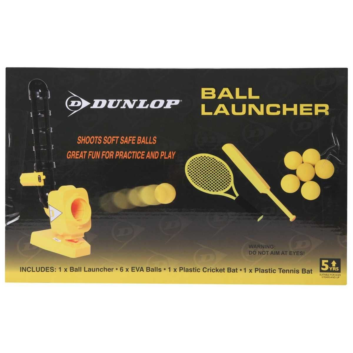 This Dunlop Ball Launcher Is A Fully Featured Ball Machine Makes The Tennis And Cricket Tutor Possible It Shoots Soft Tennis Gifts Ball Launcher Sports Brands