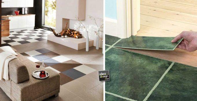 Rinnovare il pavimento con le piastrelle adesive! vantaggi e