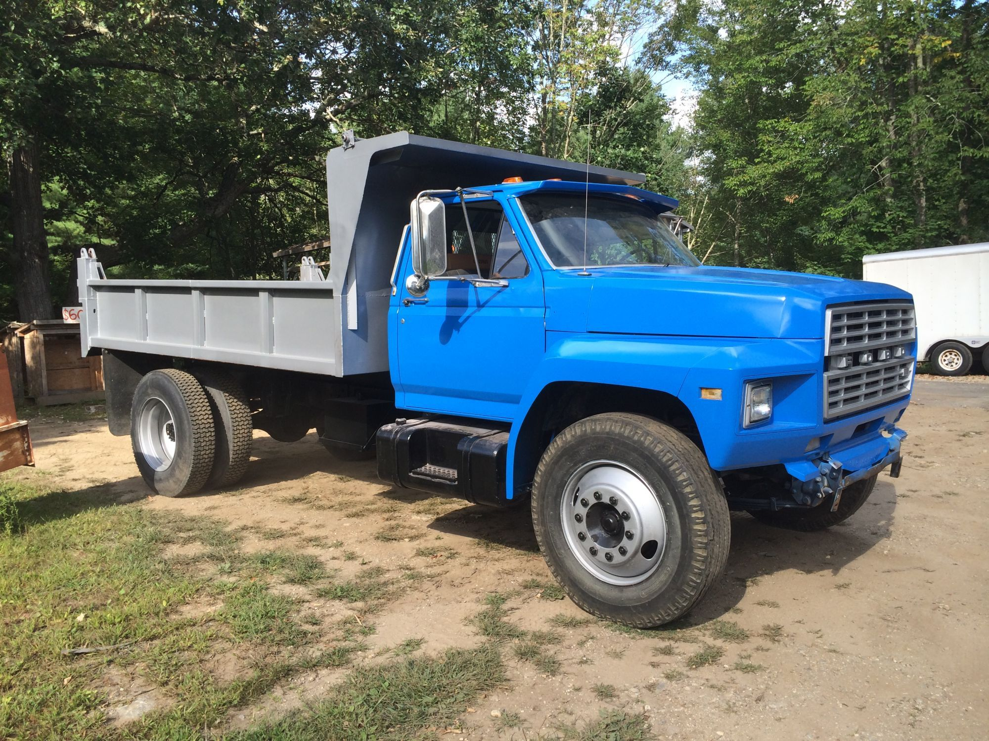 beautiful 83 ford f700 with 12u0027 dump bed restored for use by - The Dump Mattress Sale