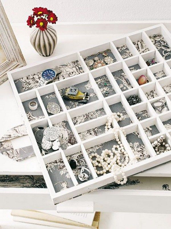 Jewelry Storage Drawer with Insert Boxes. A great way to keep all your jewelry in one place and organized by storing them in a drawer insert.  sc 1 st  Pinterest & 30 Brilliant DIY Jewelry Storage u0026 Display Ideas | Pinterest ...