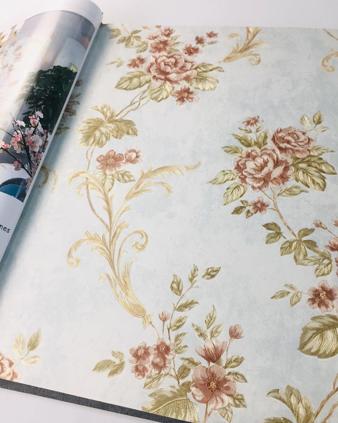 Wallpaper Dinding Murah 5m2 Shabby Chic Melbourne Hr