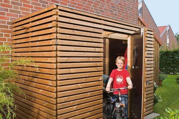 Kompakte Fahrradgarage - schnell gebaut: Mit unserer Anleitung klapp es ruckzuck!