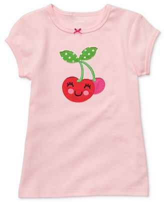 Carter's Baby T-Shirts, Baby Girls Short-Sleeved Graphic Tees - Kids Baby Girl (0-24 months) - Macy's