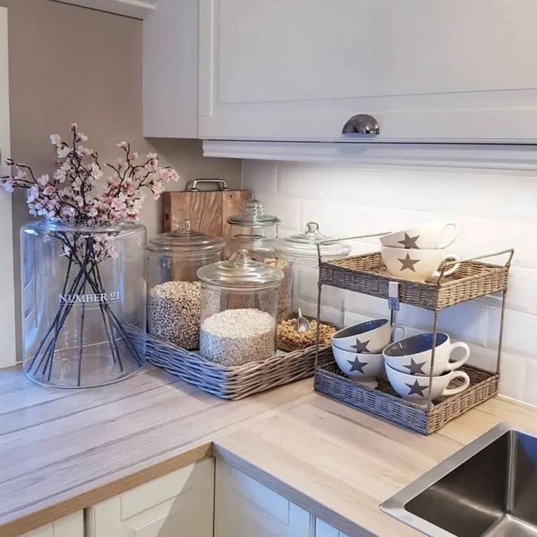 35 elegant kitchen desk organizer ideas to look neat kitchendesk kitchenideas kitchendecor on kitchen organization elegant id=72606
